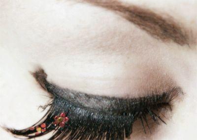 مدل های عجیب ولی زیبای آرایش چشم